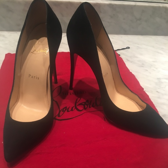6a3eeddc9290 Christian Louboutin Shoes - Christian Louboutin Pigalle Follies black suede